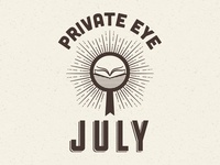 Private Eye July Logo