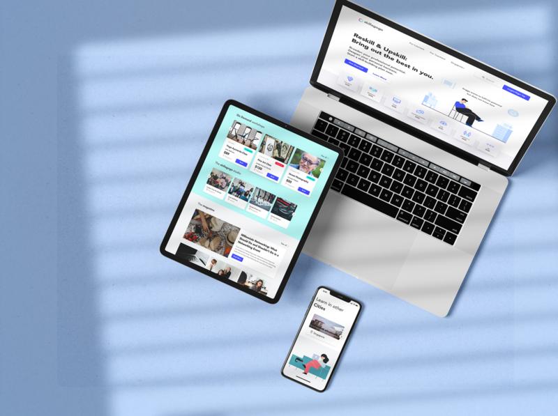 Skillagogo Website Revamp