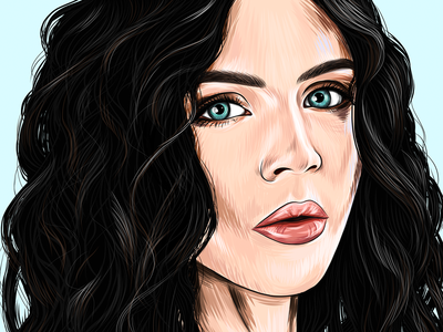 Natasha Digital Portrait