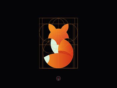 Fox ux ui vector illustration icon branding design logo dribbble goldenratio fox illustration fox logo fox