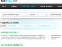Jobs finder design