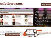Unfollowgram new HP