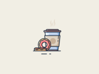 Donut and Coffe