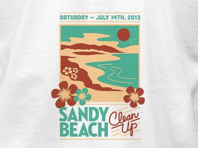 Beach Clean-Up Tee tee tshirt beach cleanup sandybeach hawaii