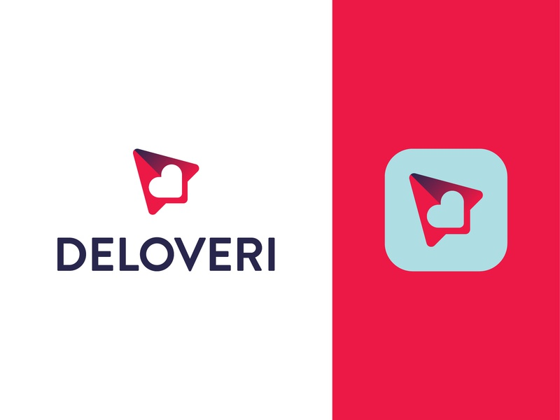 Deloveri adult love delivery mobile app app logo