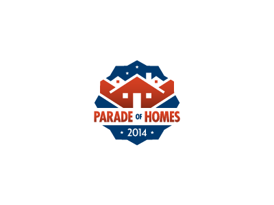 Parade of Homes Logo homes logo mark icon parade