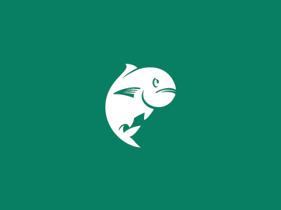 Ulua fish ulua logo mascott hawaii