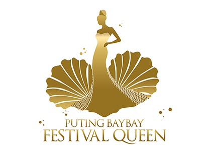 Puting Baybay Festival Queen philippines pageant logo vector