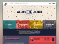 The Corner // Website