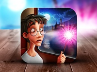 Harry Potter and the Philosopher's Stone iOS icon