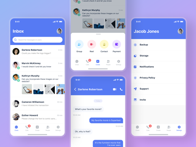 Messenger App design concept ux minimal clean ui dailyui mobile app app ui ui whatsapp signal chatting app app messenger app chat messege messenger