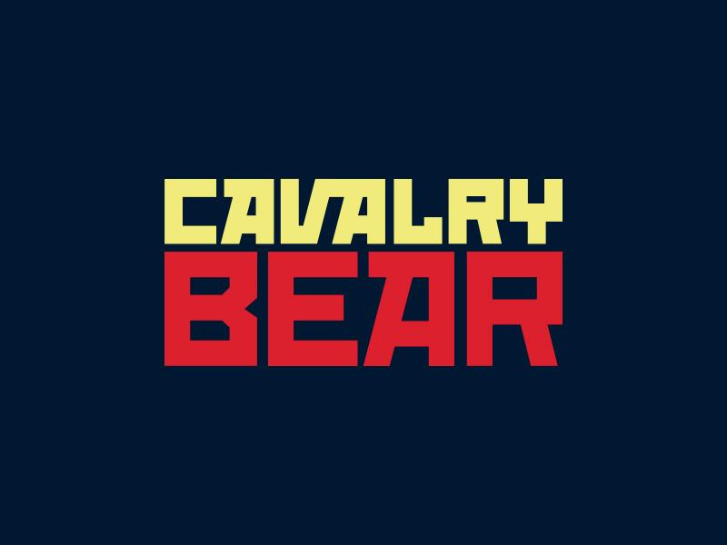 Cavalry Bear Brand propaganda horse star development argentina bear blue yellow red soviet russian gaming