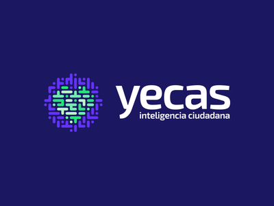 Yecas logo logo council branding corazon heart improvement city argentina mendoza ciudadano citizen