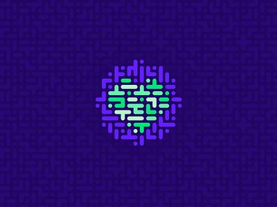 Yecas - icon & pattern mendoza logo improvement heart council corazon ciudadano city citizen branding argentina