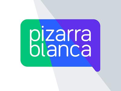 Pizarra Blanca communication conversation pizarra globo diálogo logo education argentina dialog