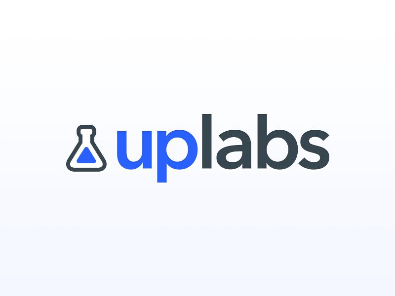 Uplabs identity challenge upvote argentina contest gray blue redesign challenge rebranding uplabs