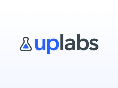 Uplabs identity challenge upvote argentina contest gray blue redesign challenge rebranding uplabs