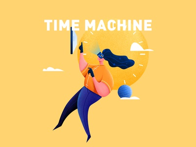 Time Machine  illustration