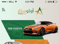 Autostar app 2 dribbble