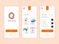 Online courses app