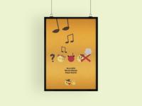 Minimal movie posters #1 - Tko pjeva, zlo ne misli