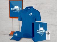 AlmyT Logo Variations