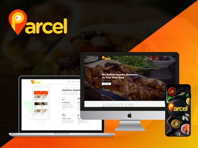 An online on demand market place for food ordering and delivery