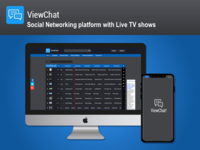 A Social Networking Platform with live TV shows