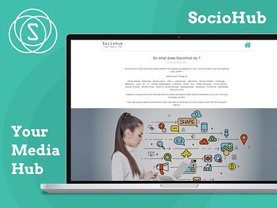 A Business Media Platform business media platform business hub social media hub social media platform web app app ux ui design
