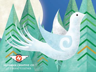 Festive Graphic vector illustration affinity designer christmas 2019