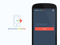 phonetochome - logo alt / promo