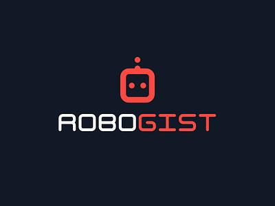 RoboGist - Logo and Mark icon github gist mark logo