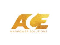 Ace Manpower Solutions Logo Design