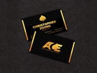 Ace Manpower Solutions Business Card Design