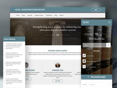 RSI Website website ui web design web