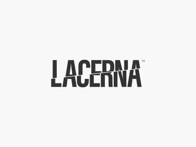 Logo Concept for LACERNA — 2 design wordmark logotype logo branding brand identity brand wear clothes concept