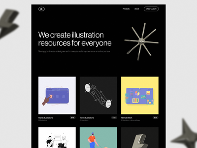 We are launch 🎉 web ui product service mvp launch agency marketplace store illustration
