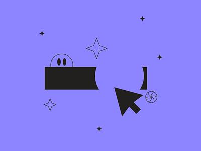 Click illustration from Tokyo Illustrations 1.0 ⛩ buttom click linear outline tokyo kapustin digital vector design illustration