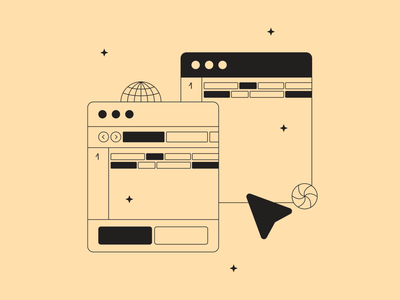 Code illustration fromTokyo Illustrations 3.0⛩ kapustin digital vector design illustration mouse interface outline linear tokyo project work code