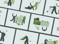 Jeanneret Illustrations Set