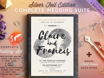 Wedding Suite II Silver Foil Edition
