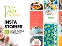 Instagram Stories - Detox Week Ed