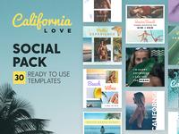 California Love - Social Pack
