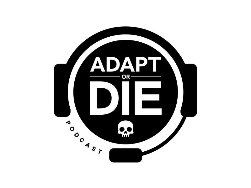 Adapt or Die / Adapt and Thrive logo
