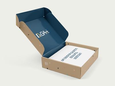 ბრენდირებული მუყაოს ყუთი