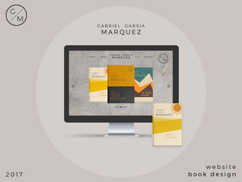 Marquez logotipe marquez book design website