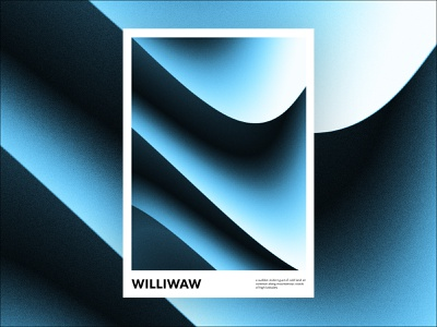 Williwaw covid poster art daily poster poster a day print poster abstract gradient graphic design design