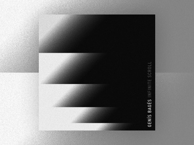 Infinite Scroll - Genís Bagés gradient abstract graphic design abstract art cover design design music art music album