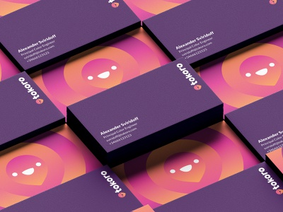 Tokoro Business Cards branding print card business card graphic design