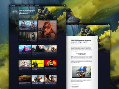 solojuegos concept articles ui design article page homepage articles article videogames